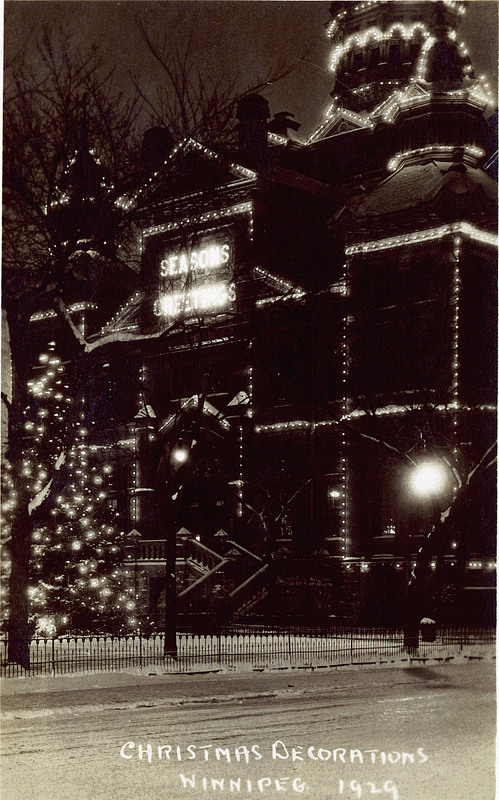Old City Hall at Christmas (1929)